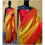 DKS01-  Khadi Raw silk Sarees