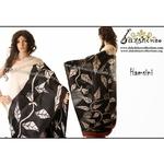 DKC1SKA2-MUW067 - Hand painted Silk Saree