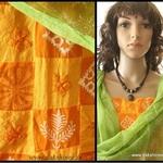 DKC3COA2-SOO003-P - Embroidered Cotton Salwar Suit