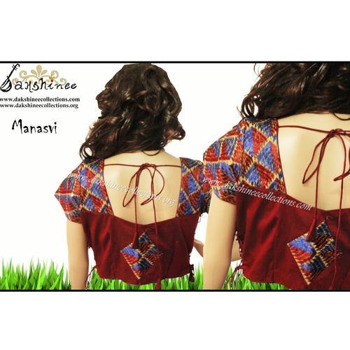 DKC6COA11-SCR044 - Designer ready to wear blouse