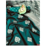 DL13 - Pure Lichi Silk Saree