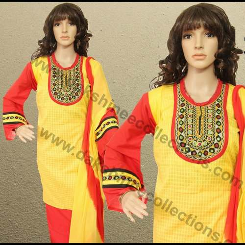 Desginer Kutch work embroidered Suit