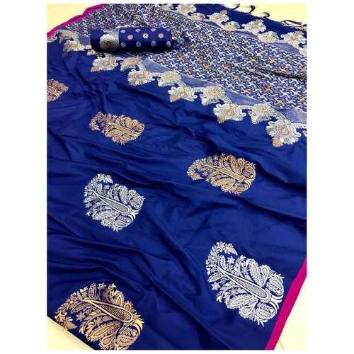 DLS17- Lichi Silk with jacqard weave pallu