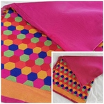194 - Soft designer Silk cotton fabric