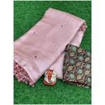 DMW07-  Madhubani Mirror weaves Saree