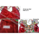 DKKWR027  -  Hand embroidered Kutch work Ready to wear blouse