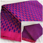 181 -  Brocaded Soft Silk cotton fabric