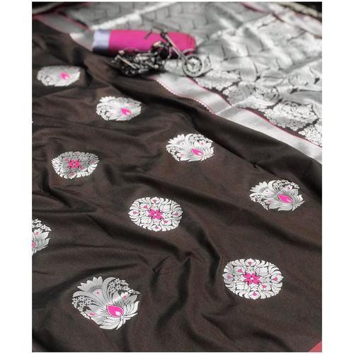 DPS09 - Pari- Soft Kesari Silk Sarees
