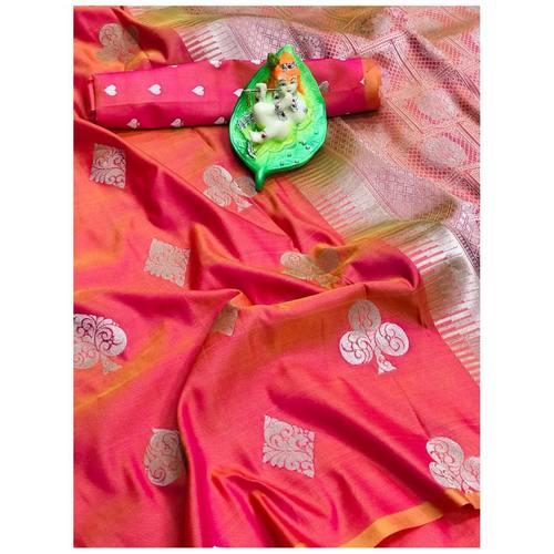 DL10 - Pure Lichi Silk Saree