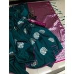 DLJ09-  Lilchi Silk Jacquard woven Saree