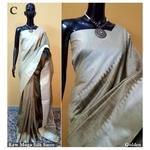 DKS12-  Khadi Raw silk Sarees