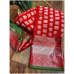 DL16 - Lichi Soft Silk Saree