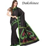 DKC1SKA15-RSB001 - Jamdani Tussar Silk Saree
