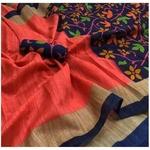 DRK02 - Raw printed Khadi Premium