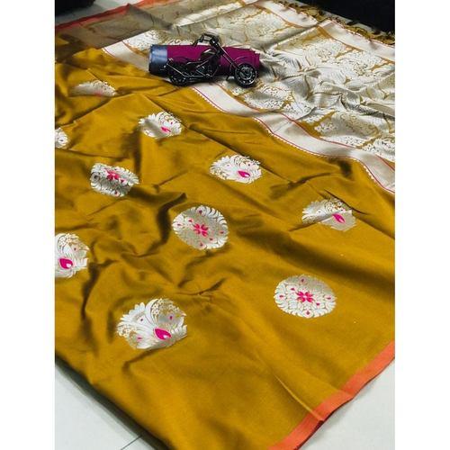 DPS14 - Pari- Soft Kesari Silk Sarees