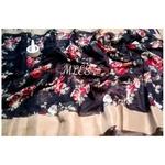 DLS04- Floral Linen Silk Sarees