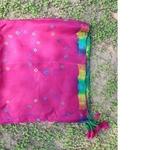 Silk Bandhini Printed Scarf