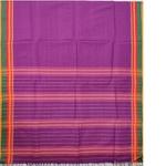Purple Naranpet Cotton Handloom Saree