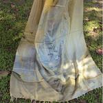Marble Print Banana Silk Stole/Dupatta