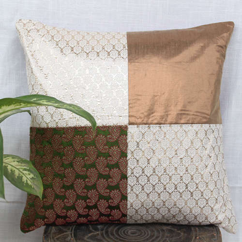 Brocade Cushion Cover 16x16