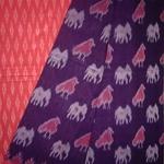 Hnadloom Cotton Saree by Warna Weavers Handloom Producer Company Ltd