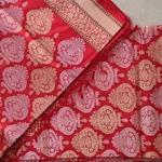 Red Benarsi Silk Saree by Islam Silk & Saree