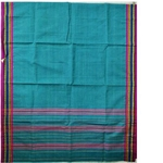 Teal Narayanpet Handloom Cotton Saree