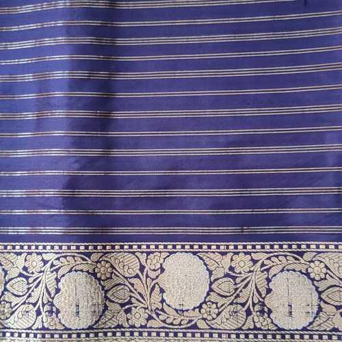 Blue Silk Benarsi Saree