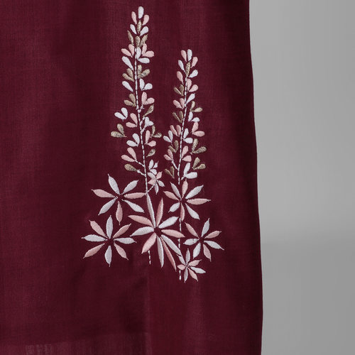 Vine Floral Embroidered Kurta
