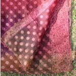 Printed Multi Colored Chanderi DupattaOdhini