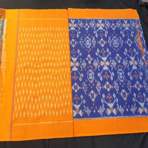 Handloom Woven Cotton Saree by Warna Weavers Handloom Producer Company Ltd