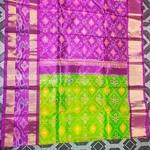 Pochampalli Silk Saree by B. Yeswanth