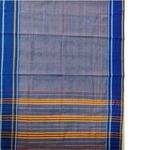Grey Blue Narayanpet Cotton Handloom Saree