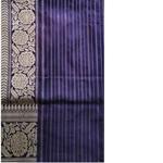 Purple Benarsi silk Saree