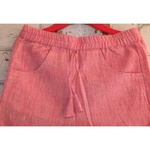 Pink Handloom Kala Cotton Girls Pant