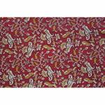 Red Floral Printed Fabric (Rs 150/Meter)