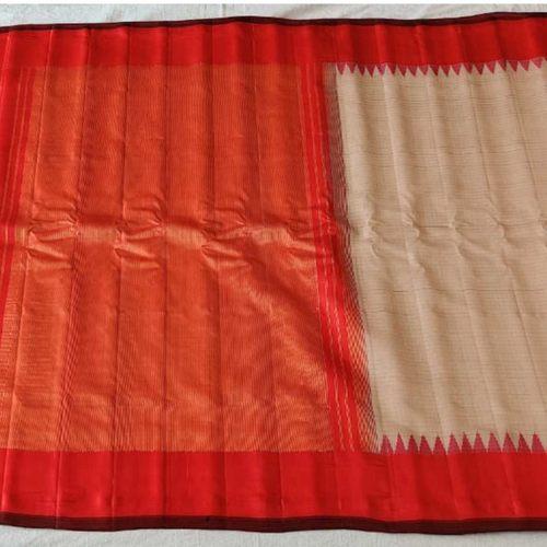 Handloom Cotton silk Saree by Indira Priya Darsini Women's Welfare Association