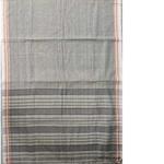 Grey Narayanpet Handloom Cotton Saree
