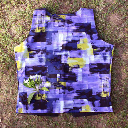 Printed Cotton Waistcoat