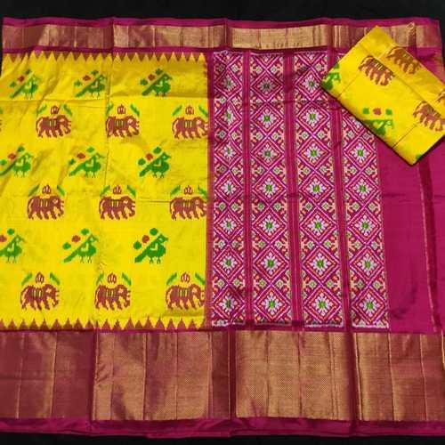 Ikkat Patola Silk Sarees by B. Kranthi Kumar
