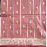 Pinka Benarsi Woven Saree by Islam Silk & Sarees
