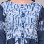 Shibori Pleated Dress