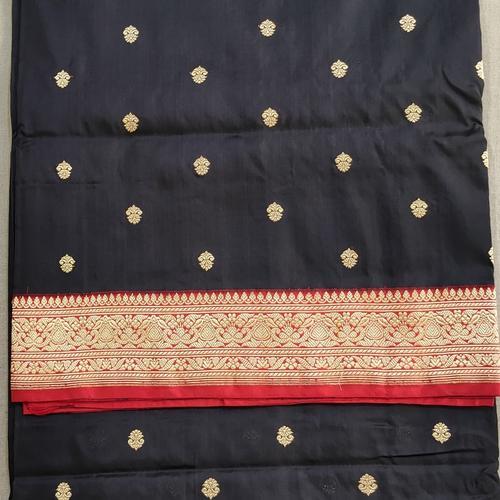 Black Benarsi Silk Sare by Islam Silk & Sarees