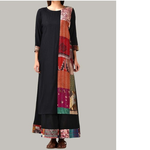 Kantha Patch Tunic