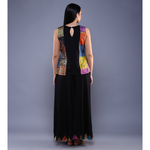 Set Of Kantha Top With Palazzos