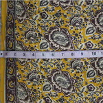 Yellow Floral Printed Fabric (Rs 150/Meter)