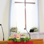 Church Wedding Décor (Gerbera theme)