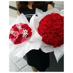 Be My Valentine Rose Bouquets
