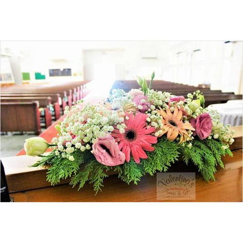 Church Wedding Décor (Gerbera theme)