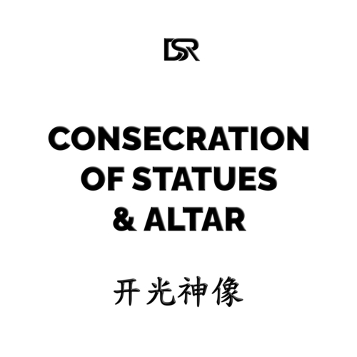 Consecration of Statues & Altar